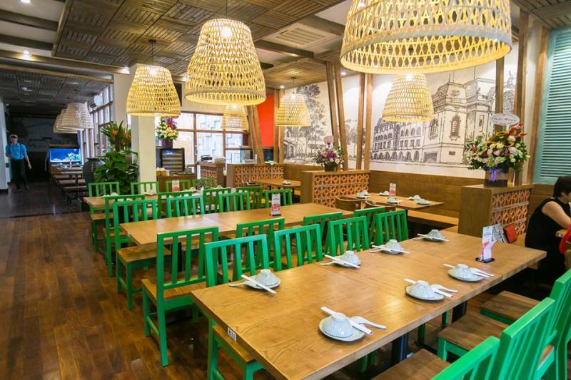Không gian đậm chất miền quê Nam Bộ, hương vị món ăn được giữ nguyên vẹn, Món ngon Sài thành là điểm đến cho những ai yêu thích ẩm thực Sài gòn chân chính