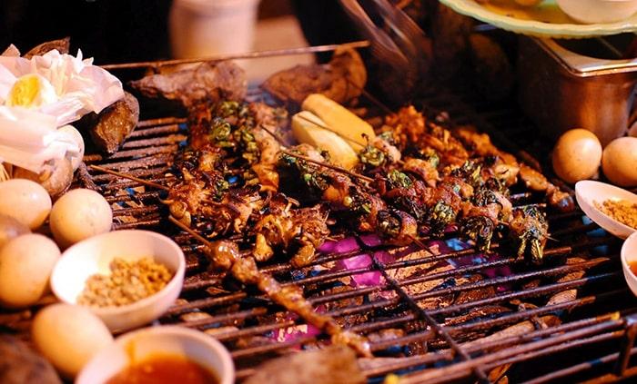 Món nướng Sapa - Lào Cai
