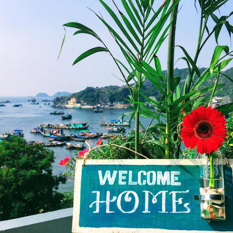 Top 10 homestay đẹp nhất ở đảo Cát Bà
