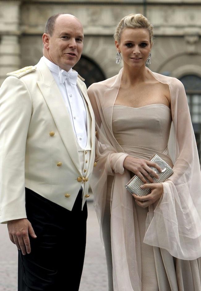 Ông hoàng Albert II và Bà hoàng Charlene