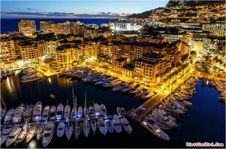 Monaco là nước có mật độ dân số cao nhất thế giới
