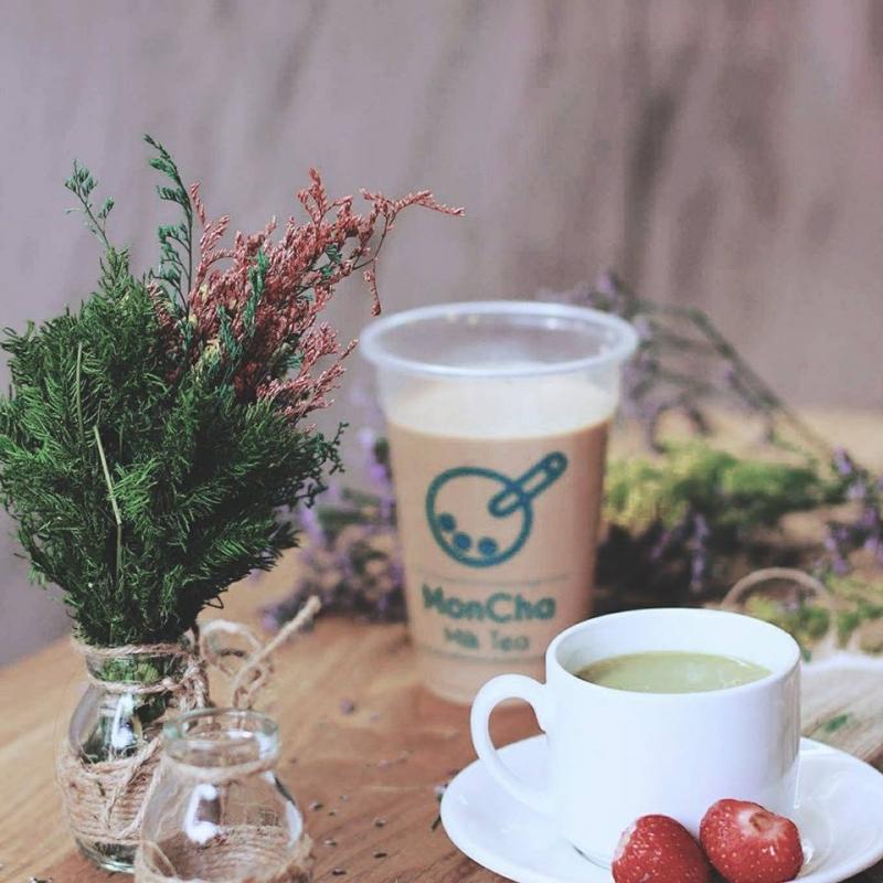 Moncha Milk Tea