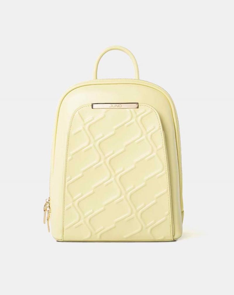 Balo monogram màu vàng pastel