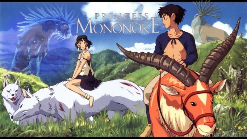 Mononoke hime.