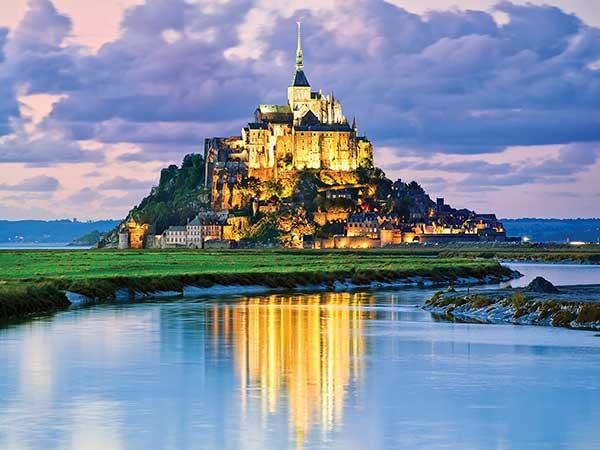 Đảo đá Mont Saint Michel, Pháp