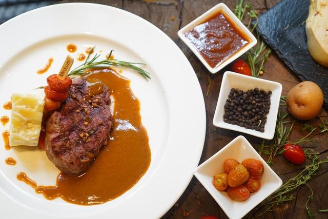 Moo Beefsteak đem đến hương vị chuẩn bít tết Mỹ