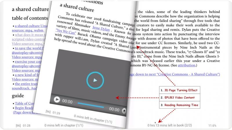 Moon+ Reader cho Android