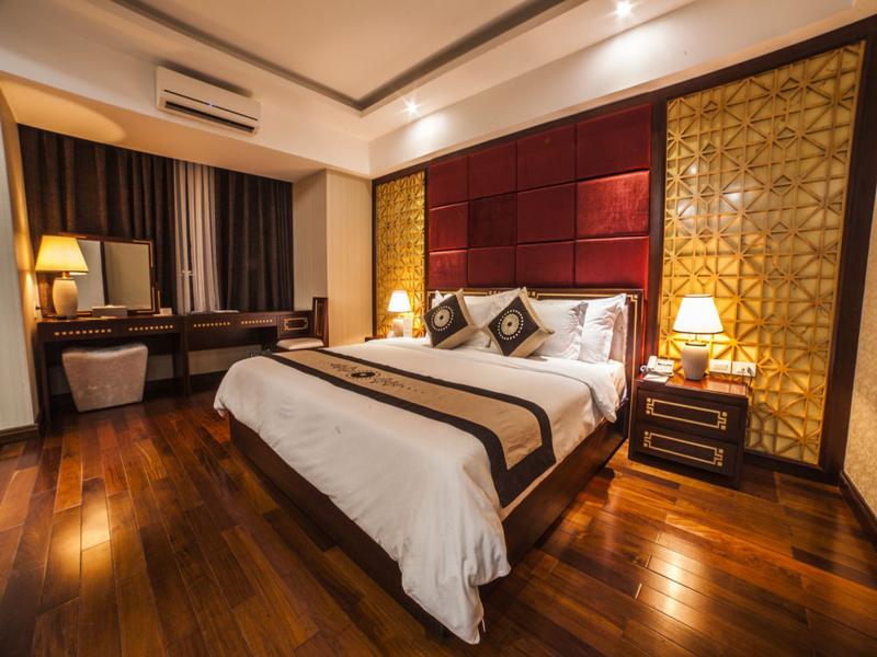 Mỗi phòng nghỉ ở đây đều được trang bị máy lạnh, tivi, internet,…nên du khách có thể yên tâm về chất lượng phòng khi nghỉ ngơi tại khách sạn.