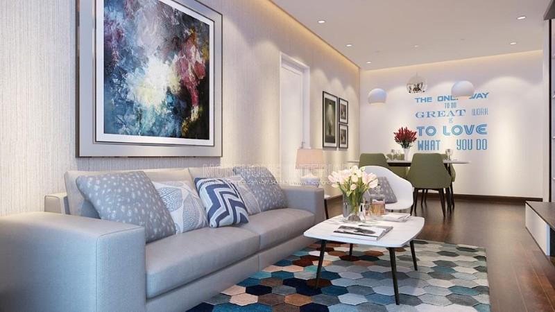 Tô cho căn hộ của mình một vài màu sắc tươi mới tạo nên sức hút năng động và trẻ trung