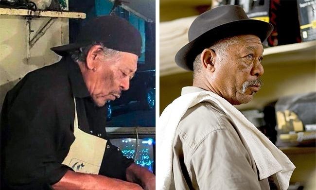 Nhìn hai bức ảnh này như một người nhưng không phải là một đâu nhé!