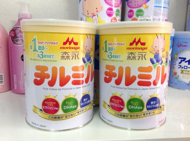 Morigana là dòng sữa bột được ưa chuộng nhất tại Nhật Bản