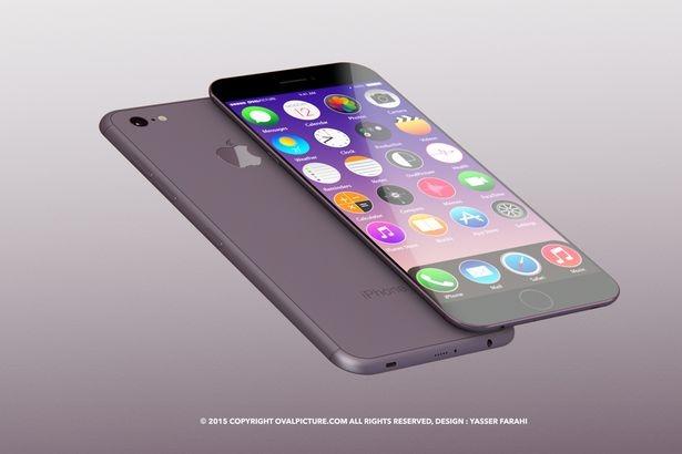 Concept đẹp long lanh của iPhone năm 2017