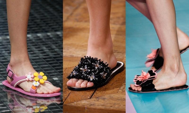 Mốt dép lê là xu hướng thời trang thịnh hành của thập niên 1990 và hiện nay đã quay trở lại như một xu hướng