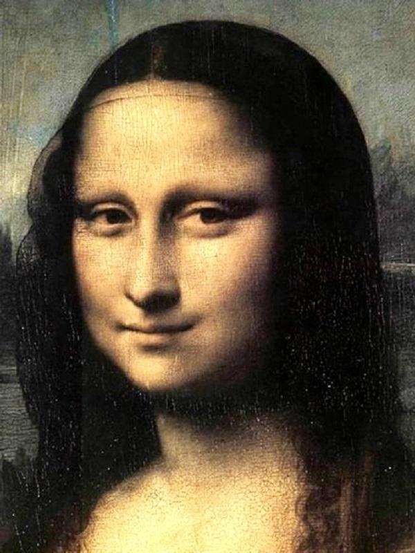 Nàng Mona Lisa không có lông mày