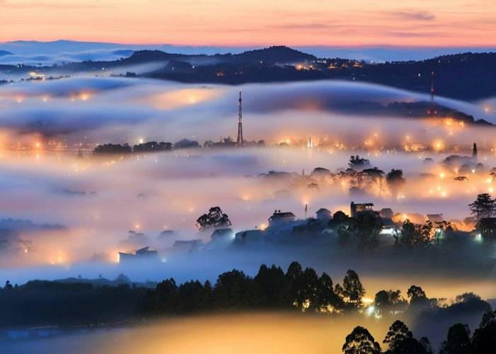 Thành phố Đà Lạt có đủ 4 mùa trong năm