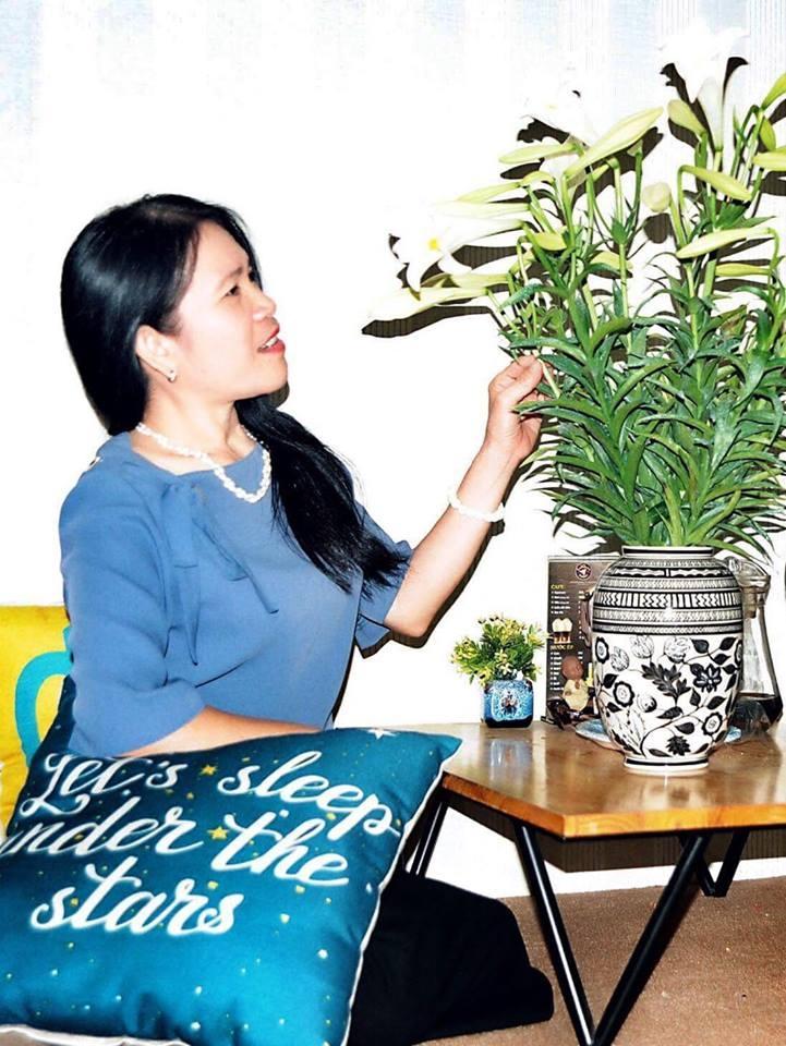 Tác giả Nguyễn Thị Thơ ( Ảnh do nhân vật cung cấp)