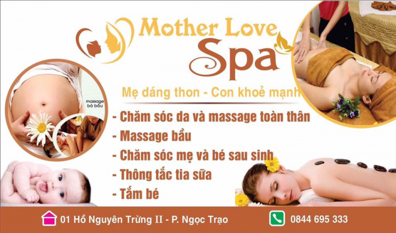 Một số dịch vụ tại Mother love spa