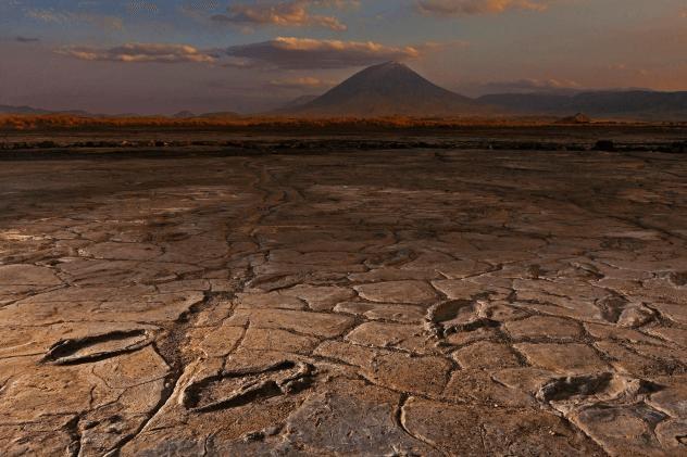 Mountain Of God Footprints
