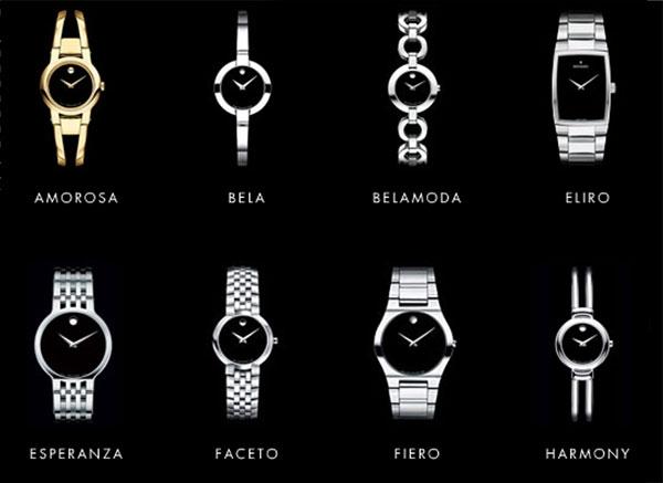 Những thiết kế đơn giản mà sang trọng, lịch lãm của Movado là niềm yêu thích của không ít tín đồ thời trang