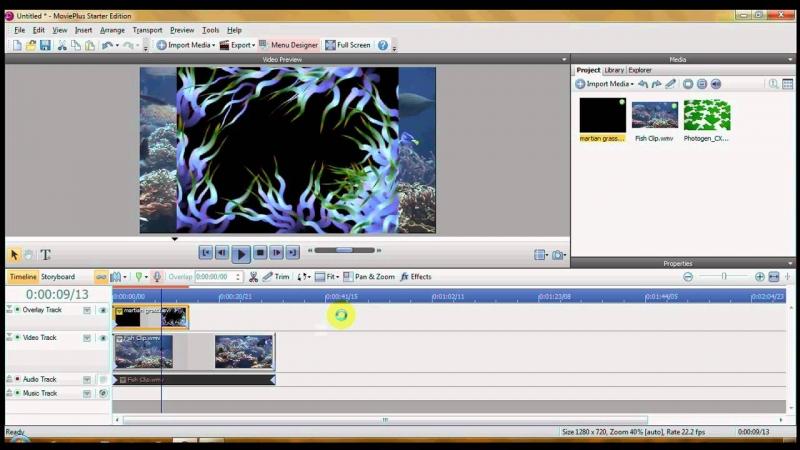 Movie Plus có hơn 100 hiệu ứng xử lí video rất đáng quan tâm.