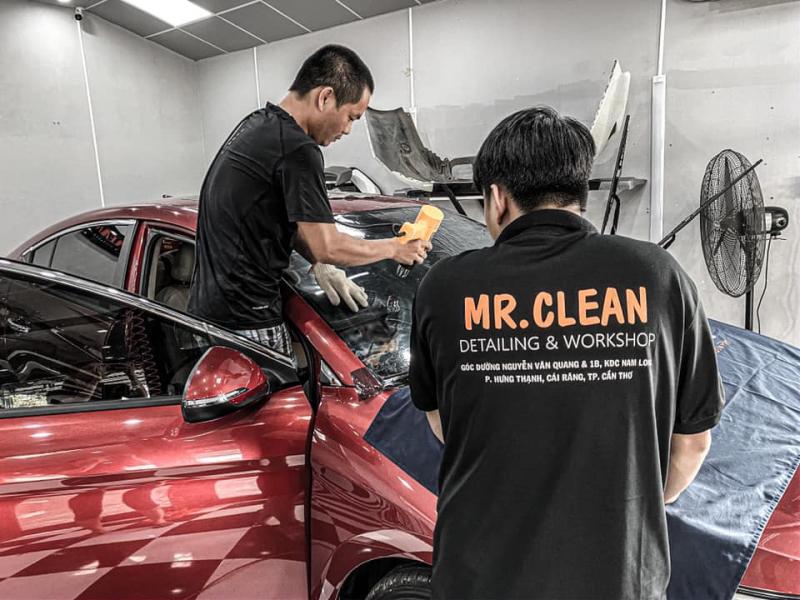 Mr. Clean car care Cần Thơ – Trung tâm chăm sóc ô tô chuyên nghiệp