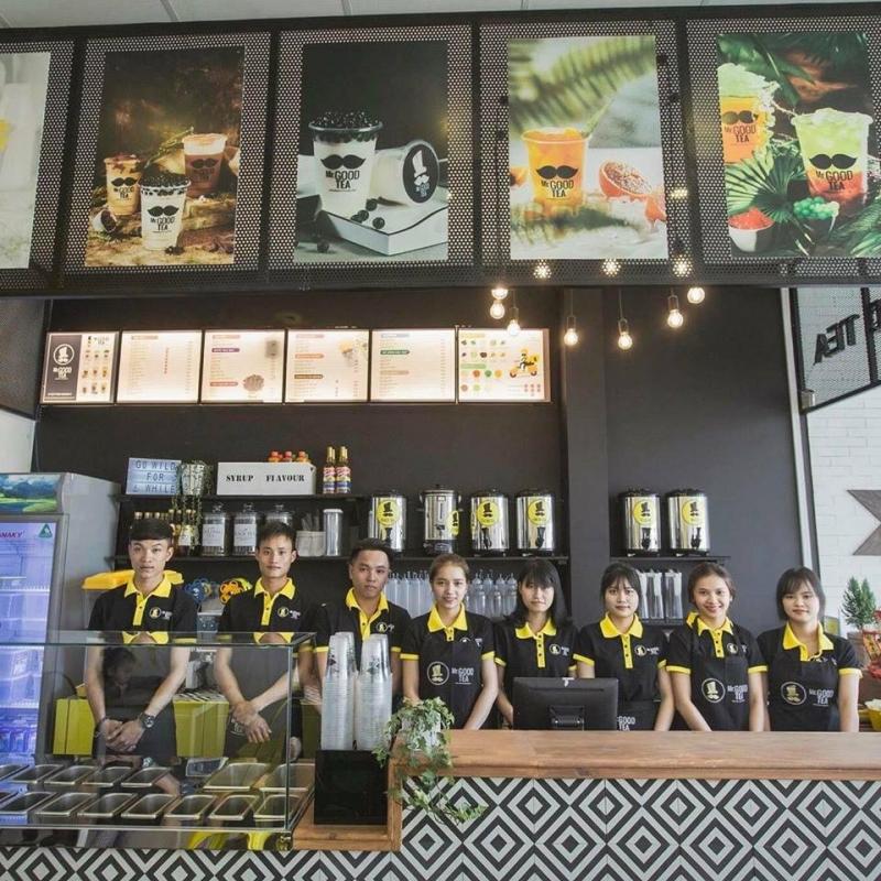 Đội ngũ nhân viên nhiệt tình của Mr. good tea