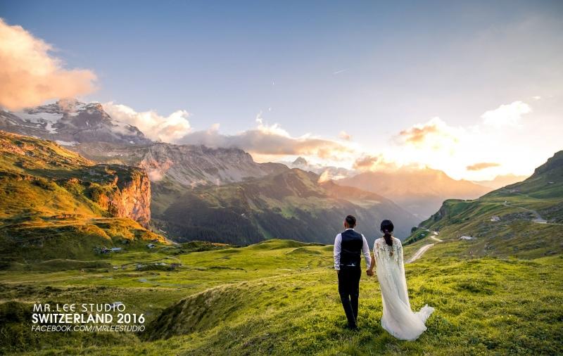 Cảnh đẹp trong gói chụp cưới tại châu Âu do Mr. Lee Studio thực hiện