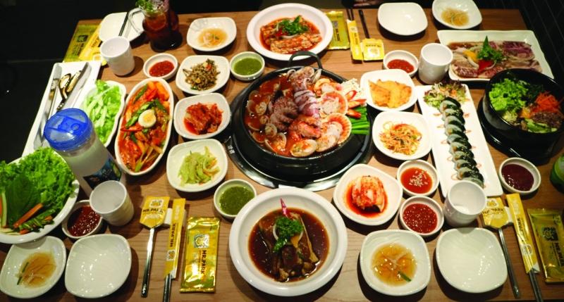 Món ăn hương vị nguyên bản Hàn Quốc
