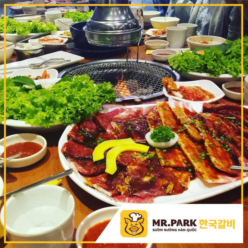 Mr.Park – Sườn Nướng Hàn Quốc là một điểm hẹn dành cho những ai trót lòng say mê món nướng