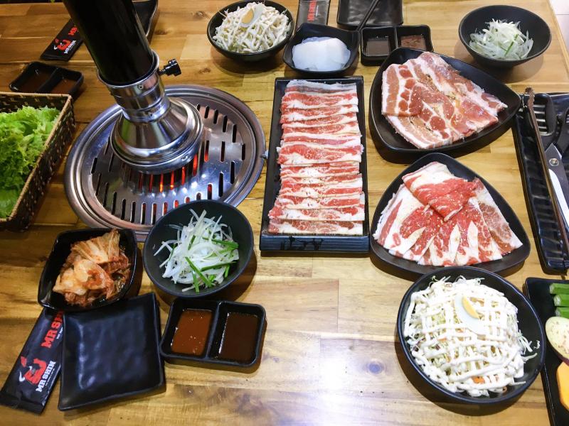 Mr. Shin - Quán thịt nướng 5 cấp độ