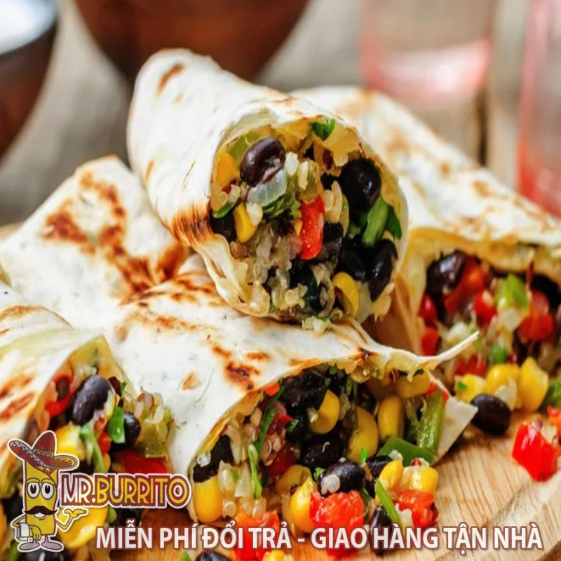 Mr.Burrito - Đặc sản Ẩm thực Mexico