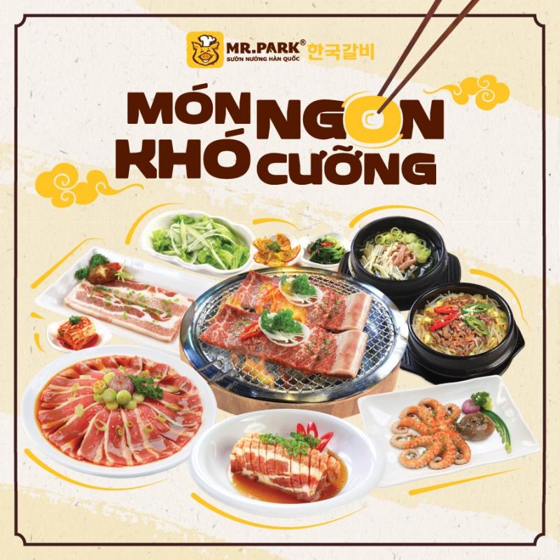Món Hàn hấp dẫn tại nhà hàng