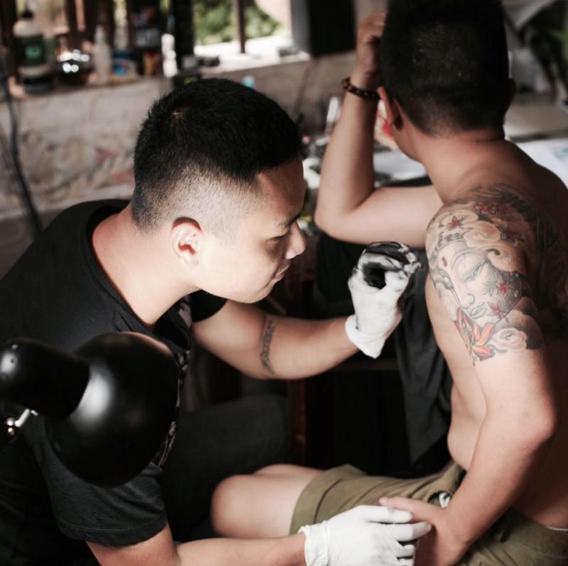 Mr.PINK Tattoo (Artist Cường Đặng)
