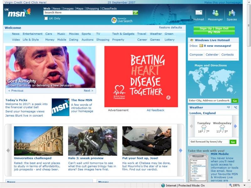 MSN.com là một điểm truy cập cung cấp nhiều dịch vụ quan trọng