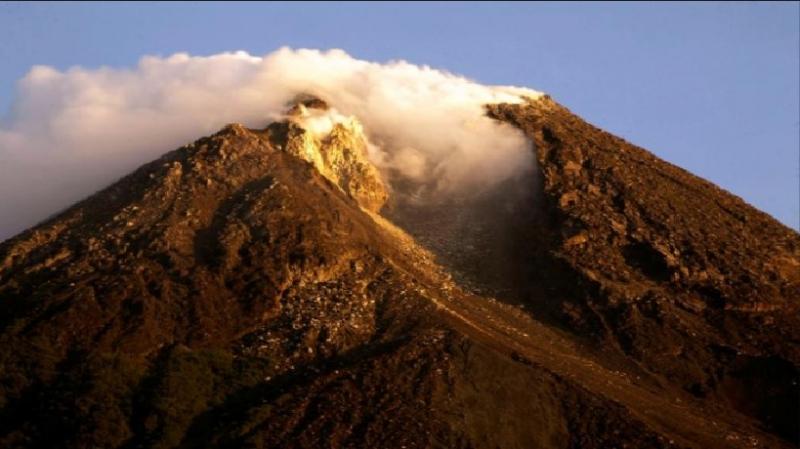 Hình ảnh núi lửa Mt.Merapi