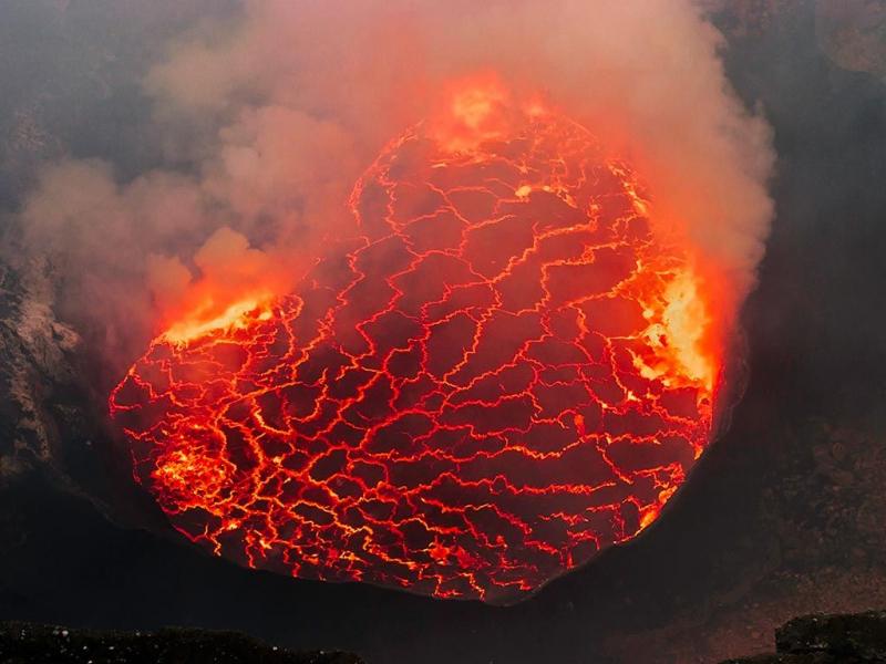 Mt. Nyiragongo, Cộng hòa dân chủ Congo