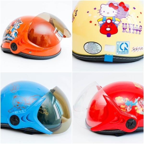 mũ bảo hiểm trẻ em chính hãng HKT