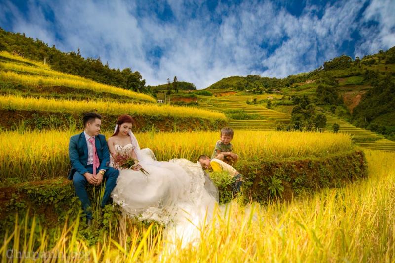 Chụp ảnh cưới ở Mù Cang Chải