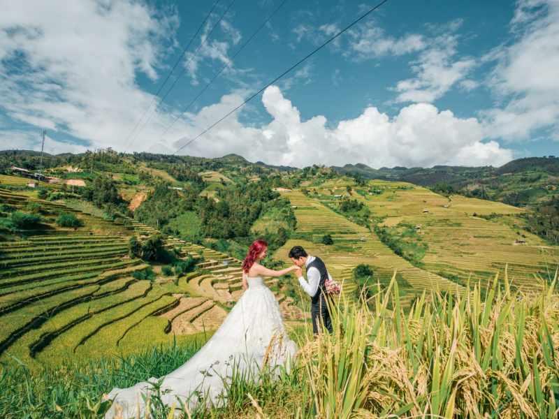 Mù Cang Chải, nơi chụp ảnh cưới đẹp ở miền Bắc