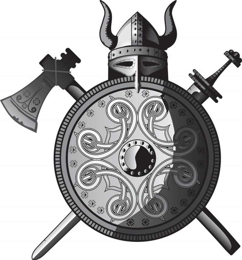 Hình ảnh phổ biến về những chiếc mũ có sừng của người Viking