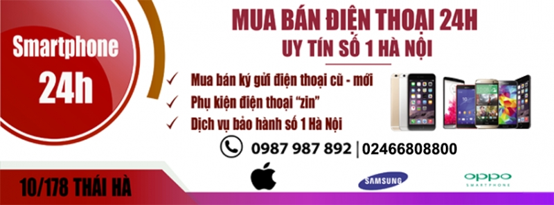 Mua bán điện thoại 24h