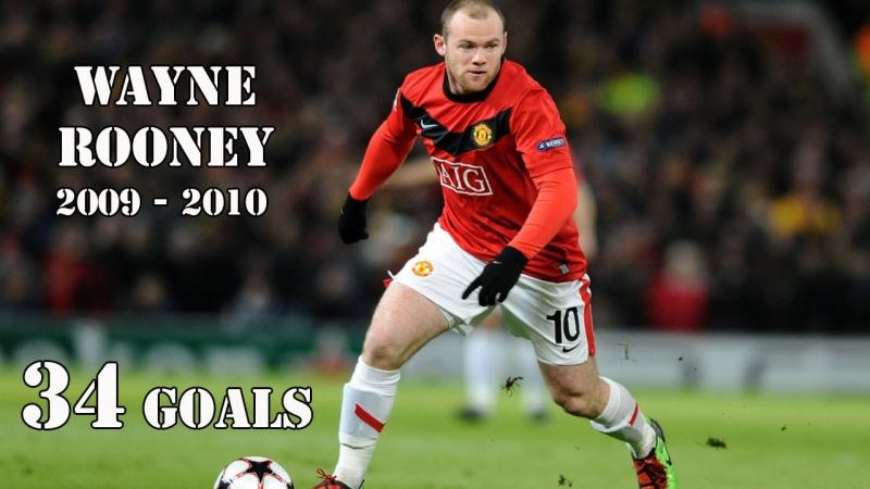 Đây là mùa giải Rooney có rất nhiều dấu ấn cá nhân
