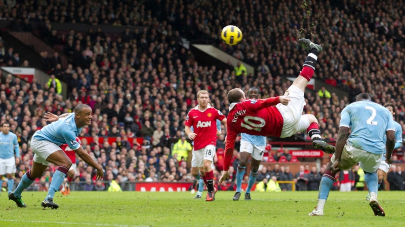 Bàn thắng đẹp nhất giải Ngoại hạng Anh thuộc về Rooney