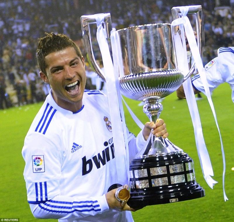 Chiếc cúp vô địch La Liga duy nhất của Ronaldo đã giành được