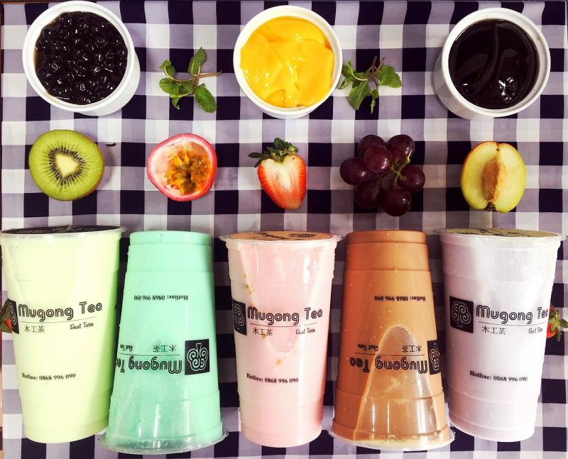 Trà sữa các loại của Mugong Tea