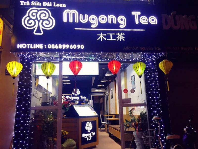 Không gian của Mugong Tea