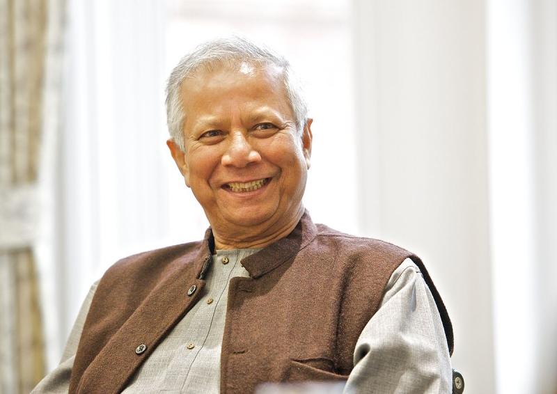 Muhammad Yunus là một nhà kinh tế học nổi tiếng với khái niệm