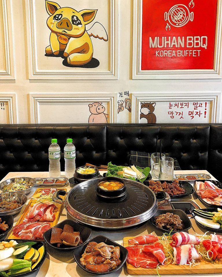 Muhan BBQ kinh doanh hình thức Buffet thịt nướng chuẩn Hàn giá chỉ từ 199.000 đồng/người.