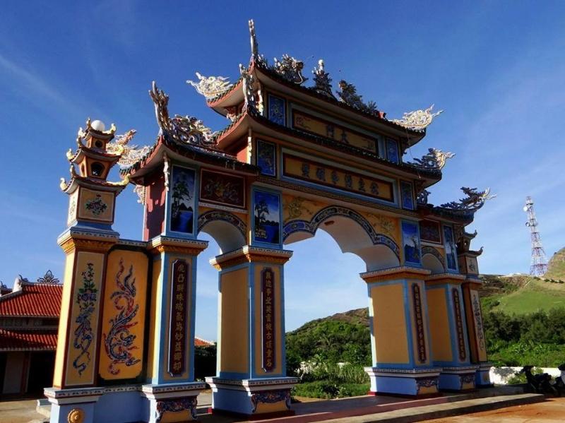 Mũi Doi Thầy (Mộ Thầy) được xây dựng từ thế kỷ 17