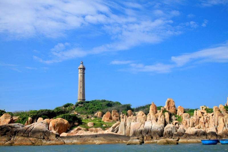 Ngọn hải đăng Kê Gà là địa điểm